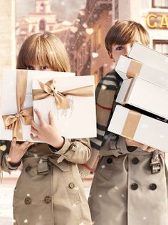 Burberry childrenswear - a collection of iconic trench coats and playful gifts for boys and girls