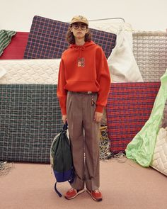 Experimental South Korean outfit ADER error return for with an expansive collection. Hip Hop Fashion, Girl Fashion, Mens Fashion, Fashion News, Style Fashion, Daily Look, New Look, Artistic Fashion Photography, Ader Error