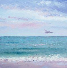 ocean+beach+decor | Ocean Painting Beach Decor Fine Art Beach Painting by JanMatsonArt, $ ...