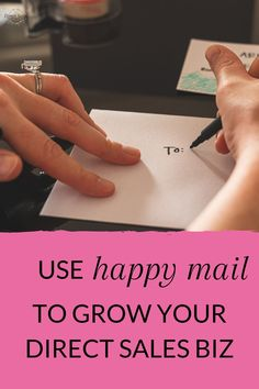 I use 'happy mail' to strengthen my relationships with customers, hosts and my team members. After all, direct selling is a relationship business! Grab the free printable & read the article today >> #directsales #directselling #partyplanconsultant Body Shop At Home, The Body Shop, Direct Selling, Direct Sales, Call Happy, Goal Setting Worksheet, Leadership Tips, My Philosophy, Engagement Cards
