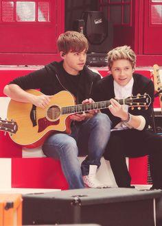 Niall and Sandy❤