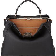 Fendi Medium Selleria Peekaboo Bag at Barneys.com