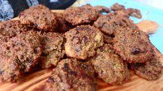 Cookies de quinoa e chocolate