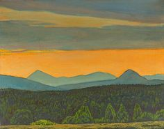 Whiteface Sunset by Rockwell Kent