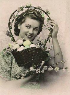 Vintage Easter beauty