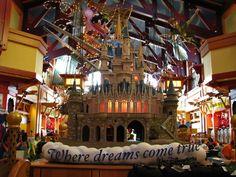 Inside World of Disney Store