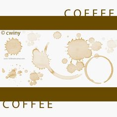 Coffee Stains - Download  Photoshop brush http://www.123freebrushes.com/coffee-stains-7/ , Published in #GrungeSplatter. More Free Grunge & Splatter Brushes, http://www.123freebrushes.com/free-brushes/grunge-splatter/ | #123freebrushes