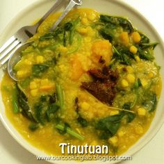 Our Cooking Lab: Bubur Manado / Tinutuan