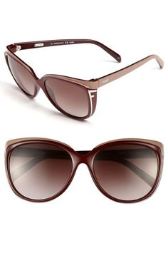 Fendi Oversized Sunglasses available at Nordstrom