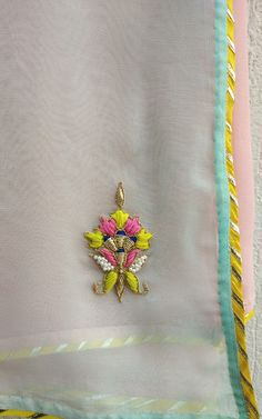 Image may contain jewelry – Artofit Zardosi Embroidery, Embroidery Motifs, Indian Embroidery, Beaded Embroidery, Embroidery Suits Punjabi, Simple Hand Embroidery Patterns, Hand Embroidery Dress, Embroidery Suits Design, Maggam Work Designs