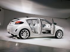 Hyundai veloster Look at the interior color!?