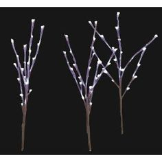 Home Accents Holiday, LED Pathway Twig Lights (Set of 3), TY168-1313 at The Home Depot - Mobile