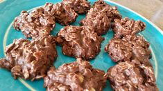 21 Day Fix No Bake Cookies makes about 24-30 depending on size 1 cup natural peanut butter 3/4 cup honey 1/2 cup coconut oil 2 tsp vanilla 2 1/4 cup oatmeal 6 Tbsp cocoa powder Melt peanut butter, ...