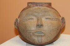 Mississippian head pot