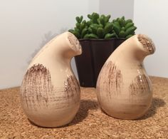 A personal favorite from my Etsy shop https://www.etsy.com/listing/263204146/vernonware-salt-pepper-shakers-vintage