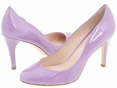 lilac shoes | Elie+Tahari+Sweet+lilac+pump+patent Lilac lavender Spring Color now