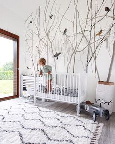 Another magic kids room to adore ? We love the styling including our Pattern Jay wallpaper by Scandinavian Surface. Wallpaper Decor, New Wallpaper, Nursery Themes, Nursery Room, Ideas Habitaciones, Magic For Kids, Create Your Own Wallpaper, Wallpaper Companies, Nursery Inspiration