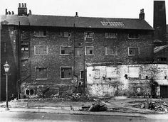 The Workhouse before demolition, 1936 © Leeds Library and Information Service