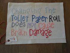 Cross stitch by ByHinrup on Etsy