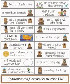 the best cute kids books for groundhog day celebration books  classroom bies groundhog day punctuation packet