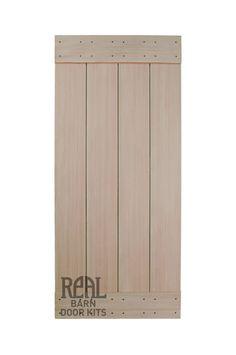 Western Red Cedar Barn Door - Real Sliding Hardware