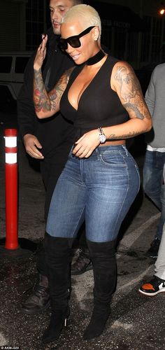 Dancing the night away? Amber Rose seemed to be enjoying the freedom that comes with not being locked away in a dance studio, as she enjoyed a night out with friends on Monday