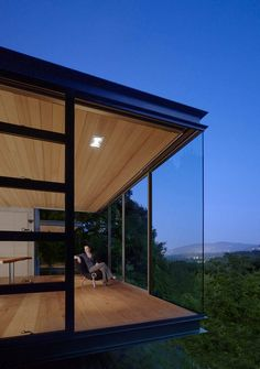 nature inspired tea houses designed by Swatt Miers Architects