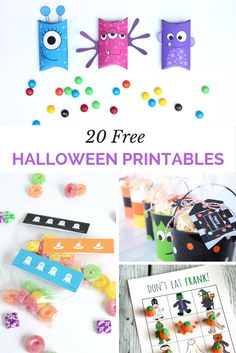 Love all these free Halloween printable ideas!