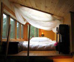 The beautiful room my mountain man and I sleep in every night :)