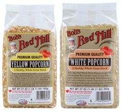 What is it? Wednesday: Popcorn | Bob's Red Mill non-gmo, gluten free, healthy