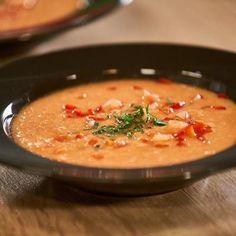 Doradca Smaku VIII: Chłodnik maślankowo-pomidorowy, odc. 26 Thai Red Curry, Ethnic Recipes, Food, Essen, Meals, Yemek, Eten