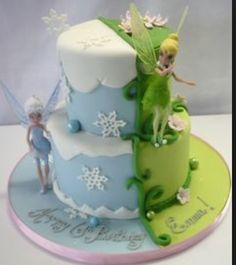 Love this tinker bell cake!