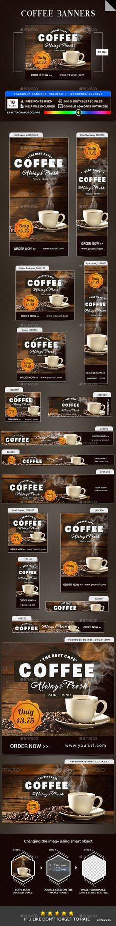 Coffee Banners - Banners & Ads Web Elements Download here : https://graphicriver.net/item/coffee-banners/19873292?s_rank=92&ref=Al-fatih