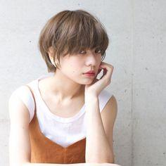 Girl Short Hair, Short Hair Cuts, Short Hair Styles, Short Bob Hairstyles, Girl Hairstyles, Korean Haircut, Haircut And Color, Pixie Cut, Cut And Style