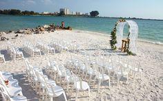 Clearwater Beach Wedding Venues | Shephard's Beach Resort | Florida