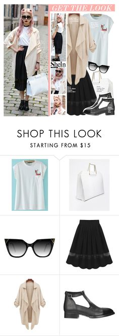 """""""Get the look-SheIn"""" by stylect ❤ liked on Polyvore featuring ASOS"""