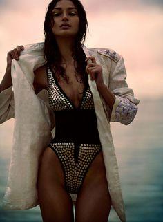 ☆ Rock 'n' Roll Style ☆ Bruna Tenorio by Chris Nicholls for Flare Canada
