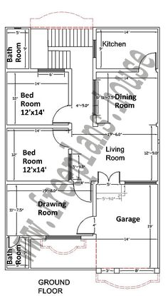 House plan for 28 feet by 35 feet plot plot size 109 for 25x30 house plans