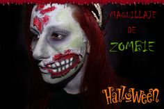 Maquillaje de Zombie para Halloween https://www.youtube.com/watch?v=9VVhCo-afxE&list=UUxsD_sI3UioWS5cmmW2flTA