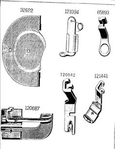 c1945 Singer Sewing Machine Manual 66-18 Book Attachments