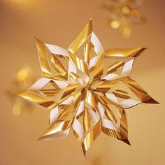 Decorazione natalizia faidate a stella
