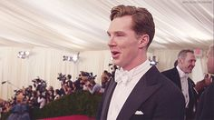 Benedict Cumberbatch, the Met gala, May 5th 2014