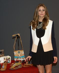 """MADRID, SPAIN - MAY 08: Olivia Palermo presents the new """"Pikolinos"""" Maasai collection at the Corte Ingles Castellana store on May 8, 2013 in Madrid, Spain. (Photo by Carlos Alvarez/Getty Images)   http://www.google.com/hostednews/"""