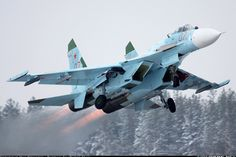 Photo ID: 1962488 Views: 36751 Russia - Air Force Sukhoi red) shot at Withheld Russia January 2011 By Max FoxbatRU Bryansky - Russian APT Stealth Aircraft, Air Force Aircraft, Fighter Aircraft, Fighter Jets, Sukhoi Su 35, Military Jets, Military Aircraft, Russian Air Force, American Fighter