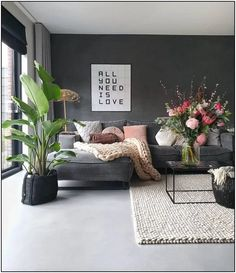 103 simple and modern living room designs for quiet people 49 Living Room Grey, Home Living Room, Interior Design Living Room, Living Room Designs, Living Room Decor, Style Deco, Living Room Storage, Home And Deco, Decoration
