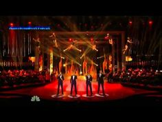 Il Divo performing live on America's Got Talent The Results