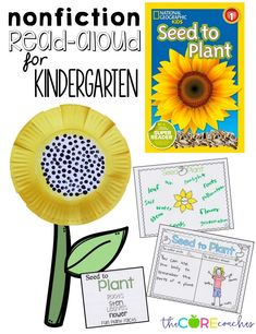 nonfiction read-aloud for Kindergarten. Discuss what you learn from the illustrations and what you learn from the text.