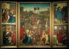 Dreikönigsaltar St. Lorenz Norimberga.  1460-1465
