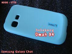 Kode Barang 1772 Jual Silikon Soft Case Samsung Galaxy Chat B5330 Biru (Blue) | Toko Online Rame - rameweb