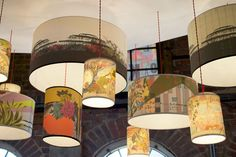 """""""Anyone who frequents the home floor of London's Liberty department store will be familiar with the work of Laura Oakes. The British designer and illustrator's popular lampshades are sold there, but her flagship store in Rye, Sussex has even more to offer."""""""